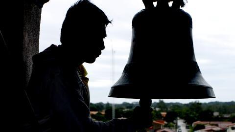 Los muertos en Portachuelo se anuncian con doce toques de campana.