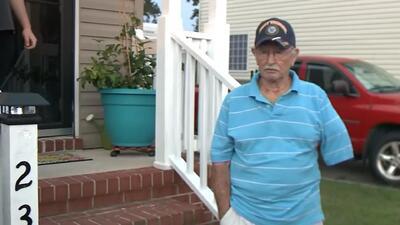 Su vecina le salvó la vida tras haberse infectado con una bacteria come carne