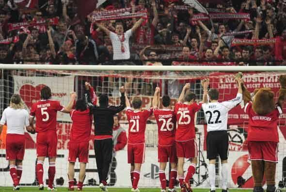 Con este resultado, el Bayern Munich visitará la próxima semana al Lyon,...
