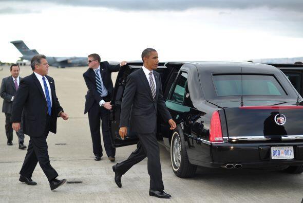 Estados Unidos: El presidente Barack Obama tiene uno de los autos más ex...
