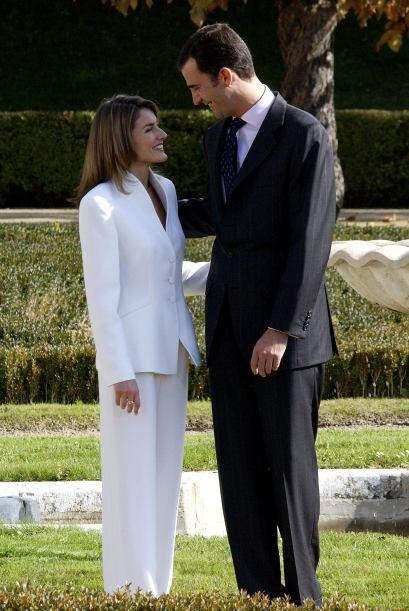 Letizia conoció al Príncipe de Asturias en una cena que Pe...