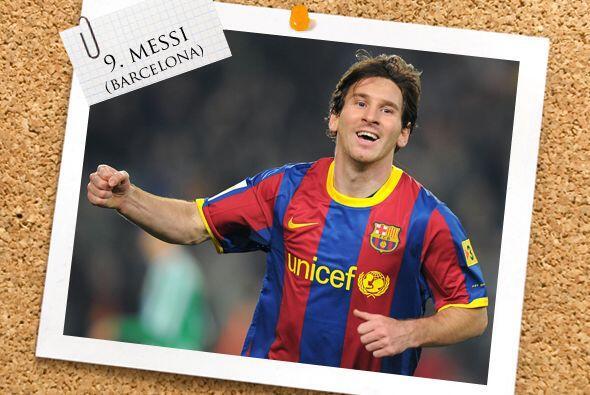 La delantera es encabezada por el favorito de muchos, Lionel Messi, que...