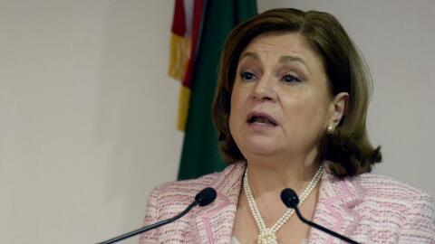 Arely Gómez, extitular de la Procuraduría General de la Re...