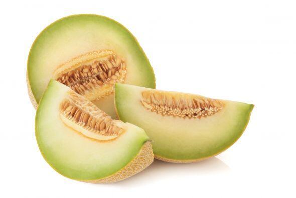 Melones. Cuando están en su punto justo de maduración huelen delicioso....