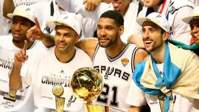 Los Spurs se han consagrado como una de las dinastías de la NBA, y eso g...