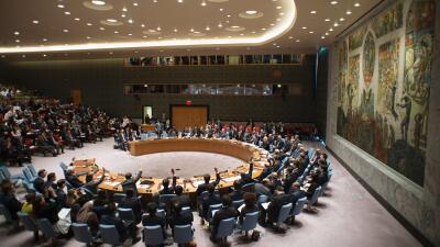 Votación del Consejo de Seguridad de la ONU sobre las sanciones a...