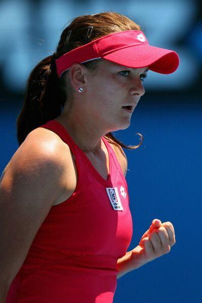 Por su parte, Agnieska Radwanska derrotó a Bethanie Mattek-Sands por 6-7...