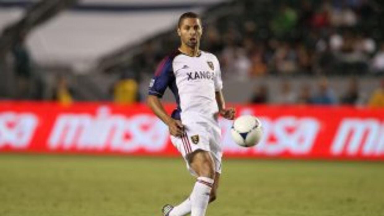 El costarricense Alvaro Saborío, del Real Salt Lake, fue elegido Jugador...
