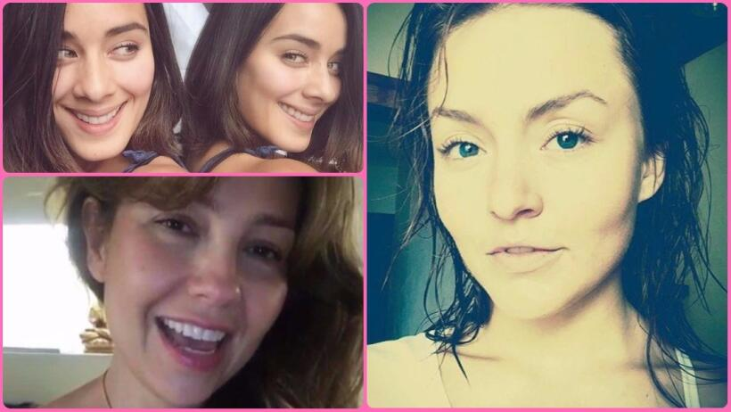 Así se ven las actrices de telenovea sin maquillaje