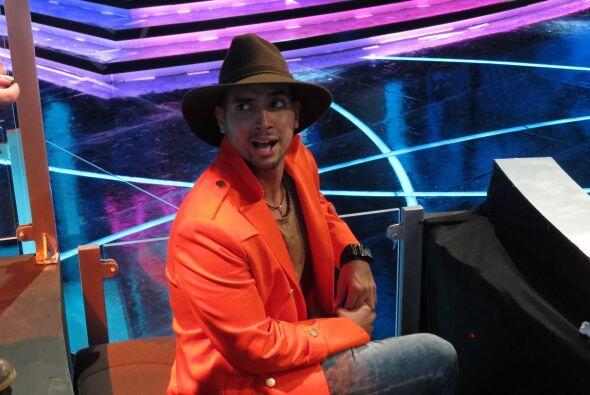 José Palacio antes de la séptima gala.