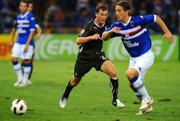 La Sampdoria, otro club que se está acostumbrando a estar en los primero...