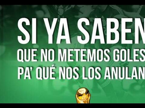 #UnOdioEternoA...Que a México siempre le roben en el Mundial.&nbs...