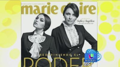 Angélica Rivera y su hija Sofía Castro posaron en la portada de una revista