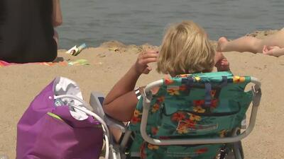 Tras la apertura de las playas, muchos decidieron no viajar y disfrutar de las buenas temperaturas en Chicago