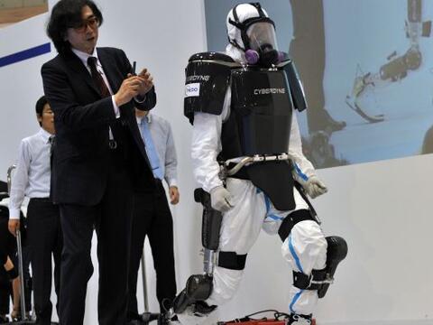 La empresa japonesa Cyberdyne y un equipo de investigación de la...