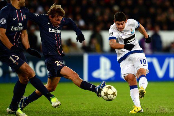 Un duelo que lucía interesante era la visita del Porto al campo del Parí...