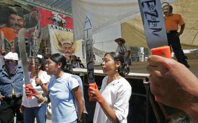 Desde 2006, mujeres de Atenco piden justicia.