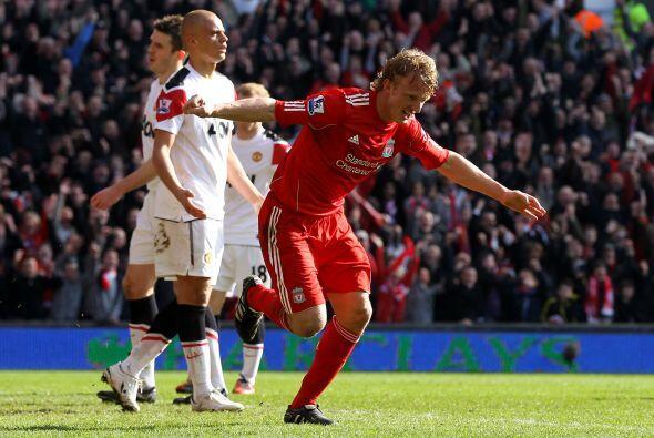 Este gol ya significaba el 2-0 en favor de los 'Reds'.