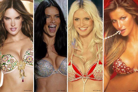 Estas modelos han portado los sostenes más caros, los cuales han ido des...