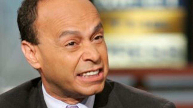 El congresista demócrata Luis Gutierrez (Illinois).
