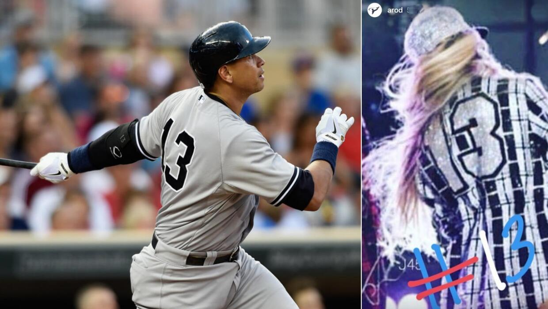 Alex Rodríguez utilizaba el número 13 en los Yankees de Nueva York, el m...