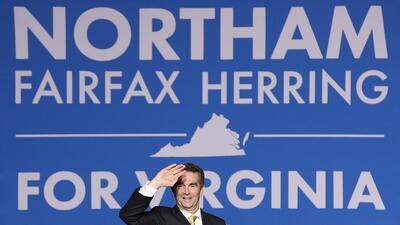 Los demócratas esperan sacar herramientas del triunfo de Northam en Virg...
