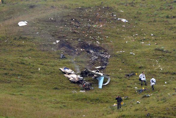 La Aeronáutica Civil precisó en un comunicado que en el accidente perdie...