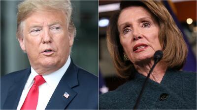 El presidente contraataca: el pulso entre Trump y Pelosi por el cierre parcial del gobierno se torna personal