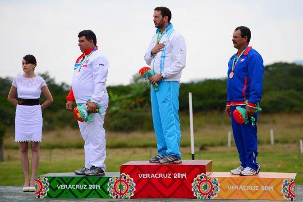 El guatemalteco Rodrigo Zachrisson se colgó la medalla de oro al...