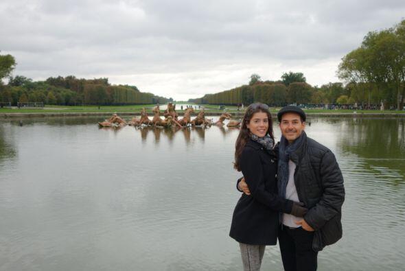 Este sitio también alberga la fuente de Apolo (Le Bassin d'Apollo), dond...