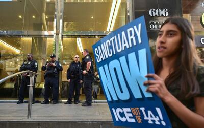 Los Angeles es una ciudad que se ha declarado abiertamente como ciudad s...