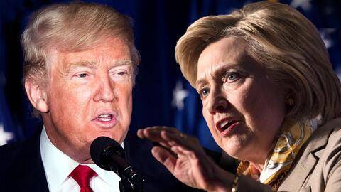 Si solo votaran las mujeres, Clinton arrasaría en las elecciones.