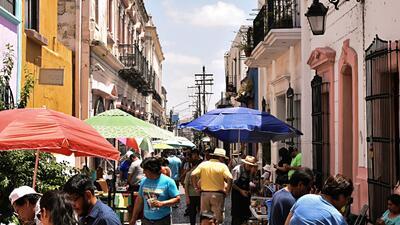 El Barrio Antiguo de Monterrey, lleno de vida, como debe ser.