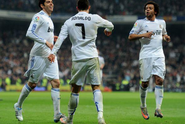 Sin embargo, fue Cristiano Ronaldo quien puso las cosas 2-1.