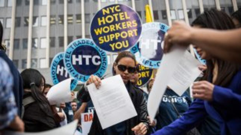 La AFL-CIO, principal organización sindical de Estados Unidos, respalda...