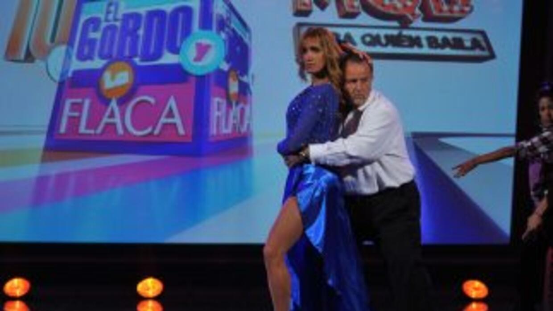 Raúl y Lili se sumaron a la fiesta de Mira quién baila, el nuevo program...