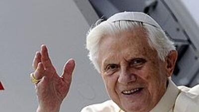"""El Papa Benedicto XVI dijo que la Iglesia """"está herida por nuestros peca..."""