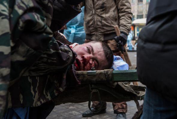 El 31 de enero apareció el activista de oposición Dmytro B...