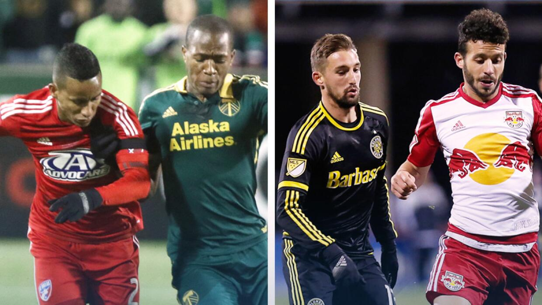 FC Dallas vs Portland Timbers / New York Red Bulls vs Columbus Crew
