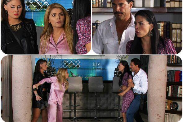 Pero dale una oportunidad a Rocío, ella está súper enamorada de tu hijo....