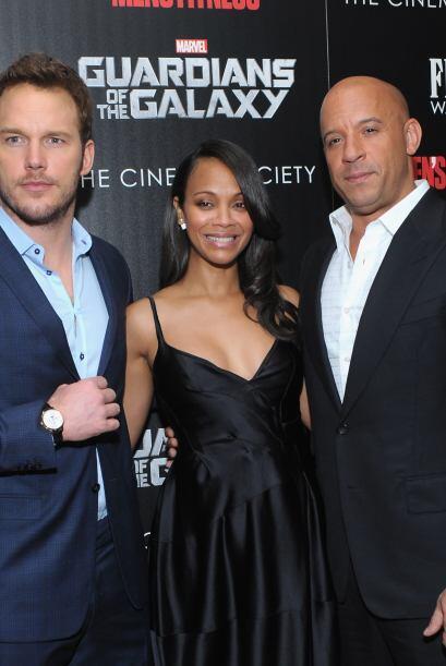 Los protagonistas de la cinta de acción de Marvel.