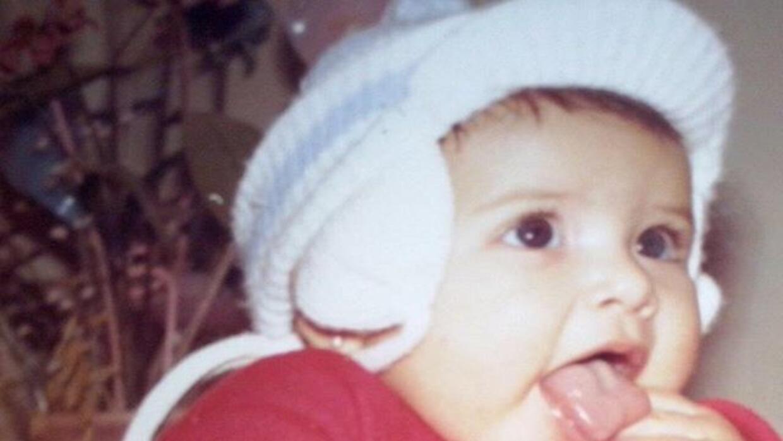 Ana Patricia de niña