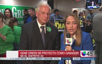 Representante Gene Green derrota a ex alguacil Adrían García