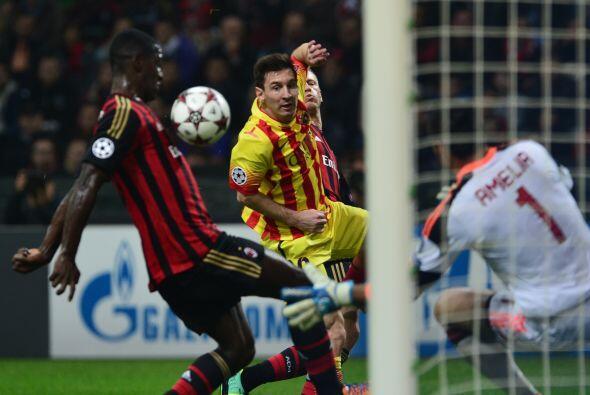 Los barcelonistas fueron apoderándose de la pelota, pero el marcador no...