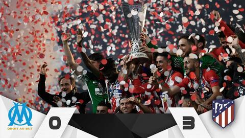 Marsella vs Atlético final Europa League