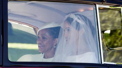 En fotos: los detalles del vestido de novia de Meghan Markle