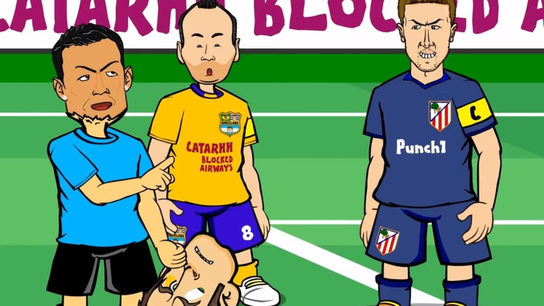 Siguen las burlas contra Barcelona