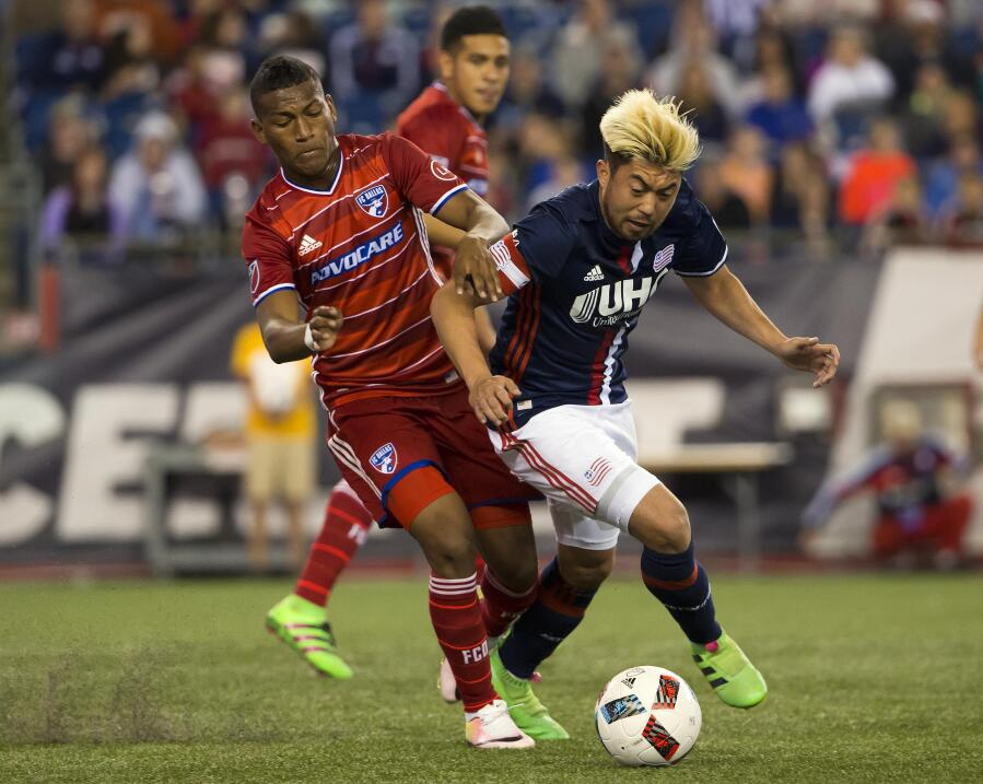 FC Dallas vs New England Revolution | Carlos Gruezo, Lee Nguyen
