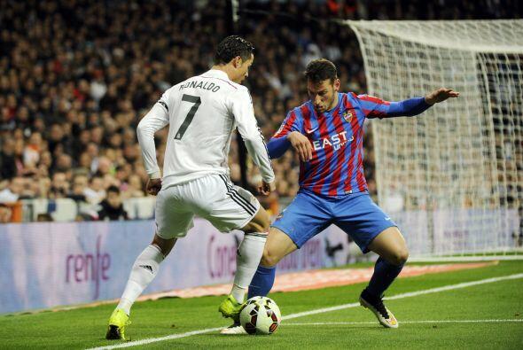 Y de inmediatamente la BBC (Bale-Benzema-Cristiano) comenzaron a generar...