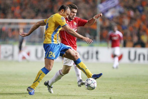 APOEL Nicosia y Wisla Cracovia jugaron la Vuelta. En el primer juego los...
